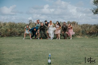 Lotus Photography UK 20190831 Jen & Ad Wedding Tintagel Cornwall Festival Wedding Tipi 215