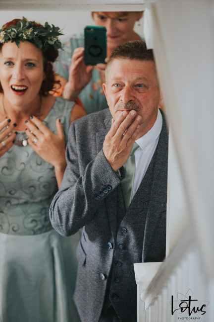 Lotus Photography UK 20190831 Jen & Ad Wedding Tintagel Cornwall Festival Wedding Tipi 42