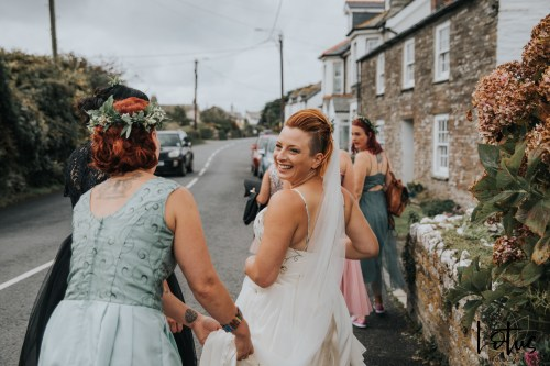 Lotus Photography UK 20190831 Jen & Ad Wedding Tintagel Cornwall Festival Wedding Tipi 48