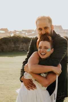 Lotus Photography UK 20190831 Jen & Ad Wedding Tintagel Cornwall Festival Wedding Tipi 513