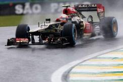 Friday 1st November 2013. Romain Grosjean, Lotus E21 Renault.