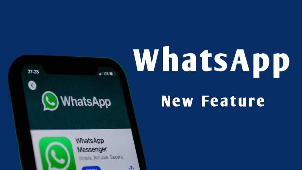WhatsApp Feature, send a text message without typing