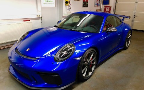 Porsche 991 GT3 blau