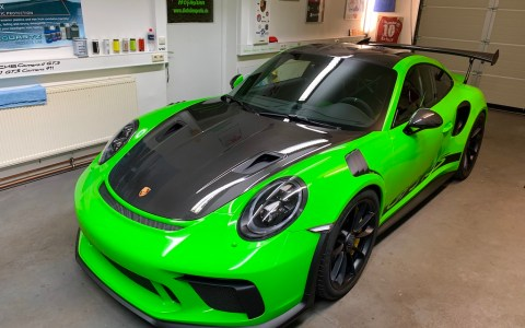 PORSCHE 911 GT3 RS WEISSACH GRÜN