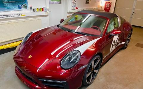 CarPorsche 911 targa 4S heritage