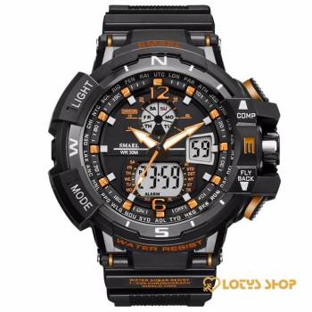 Digital Quartz Sports Watches With Dual Display for Men Accessories Men's watches Watches color: All Red|Black / Blue|Black + Gray|Black Golden|Black Green|Black Orange|black red|Black Rose gold|Rose Golden