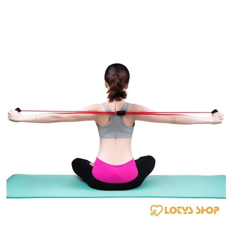Elastic Resistance Bands for Yoga