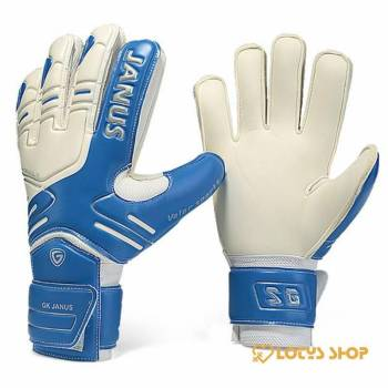 Professional Goalkeeper Gloves with Finger Protection Outdoor Sports color: Black|Blue|Red