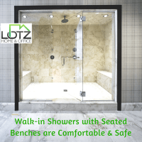 Walk-in Shower with Bench Video | Remodeling Contractor in ...