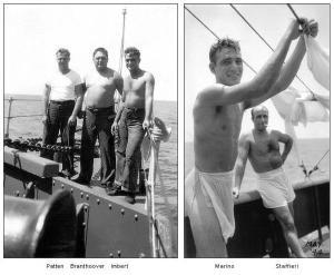 USS EAGLE 19 - memorable shipmates - May 1944