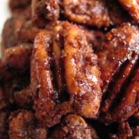 Sugar & Spice Roasted Pecans