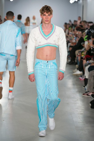 Sibling Menswear Spring Summer 2017 Collection London Collections: Men NYTCREDIT: Guillaume Roujas / NOWFASHION