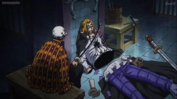One Piece 955 - Law vs Hawkins