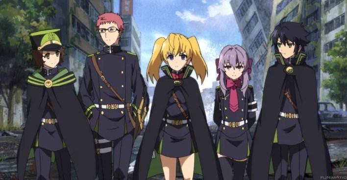 Owari no Seraph Anime