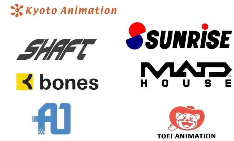 Estúdios de Animes