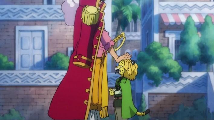 One Piece Episódio 968 - Roger e Pedro