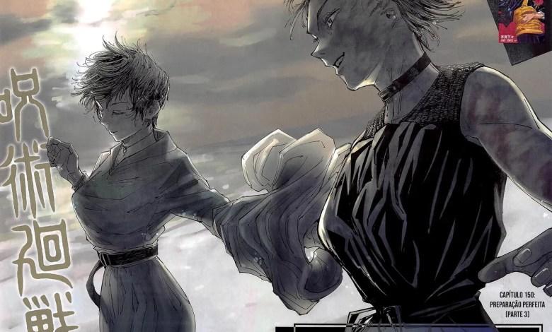 Capítulo 150 de Jujutsu Kaisen - Maki e Mai