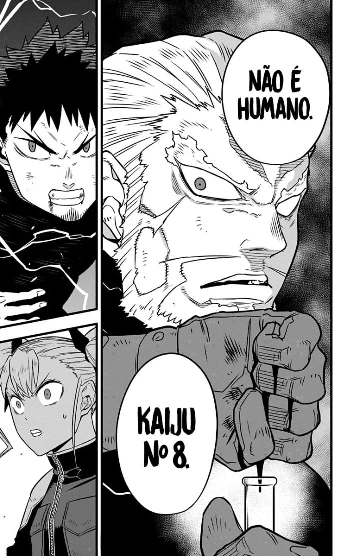 Capítulo 34 de Kaiju no 8 - Kafka