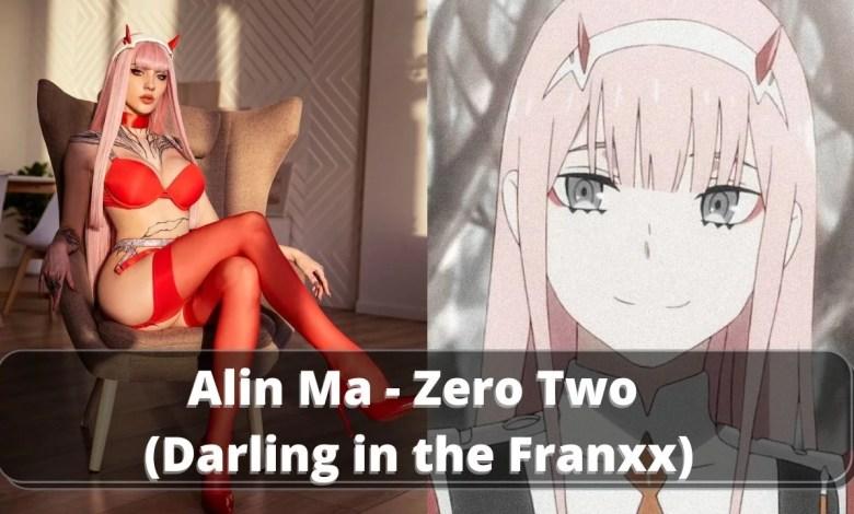 Alin Ma - Cosplay de Zero Two