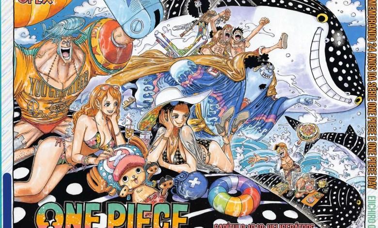 Capítulo 1019 de One Piece - Capa