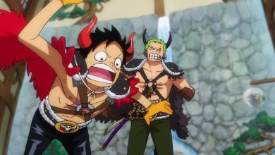 Episódio 986 de One Piece: Luffy Fugitivo e Kid pistola!