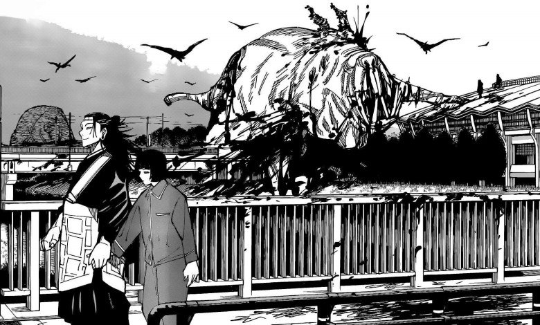Capítulo 160 de Jujutsu Kaisen