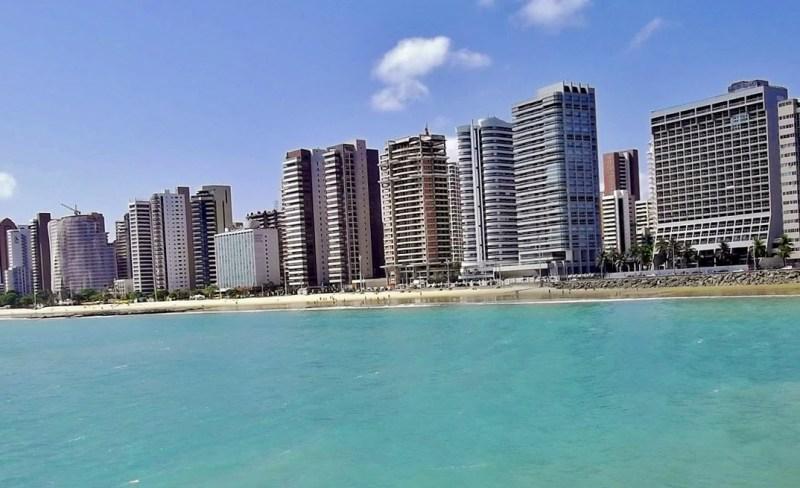 Praia de Meireles, Fortaleza, Ceará - por R-NASCIMENTO-ROCHA