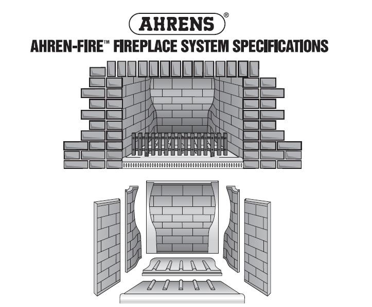 Ahren Fire Fireplace diagram