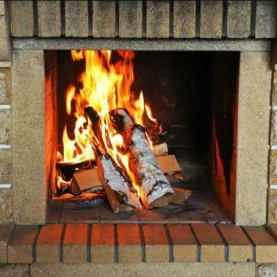fire in firebox