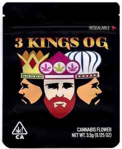 3 Kings OG Mylar Bags