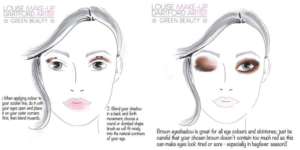 July's Instagram make-up tip round up…