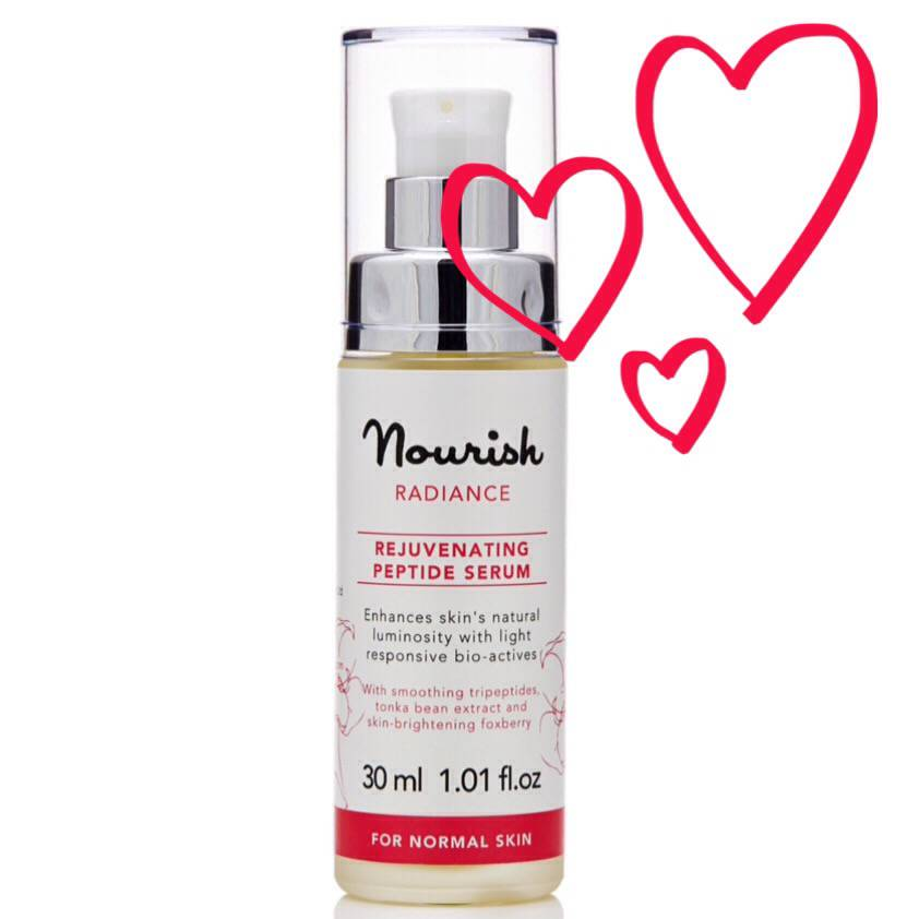 Nourish Radiance Rejuvenating Peptide Serum..