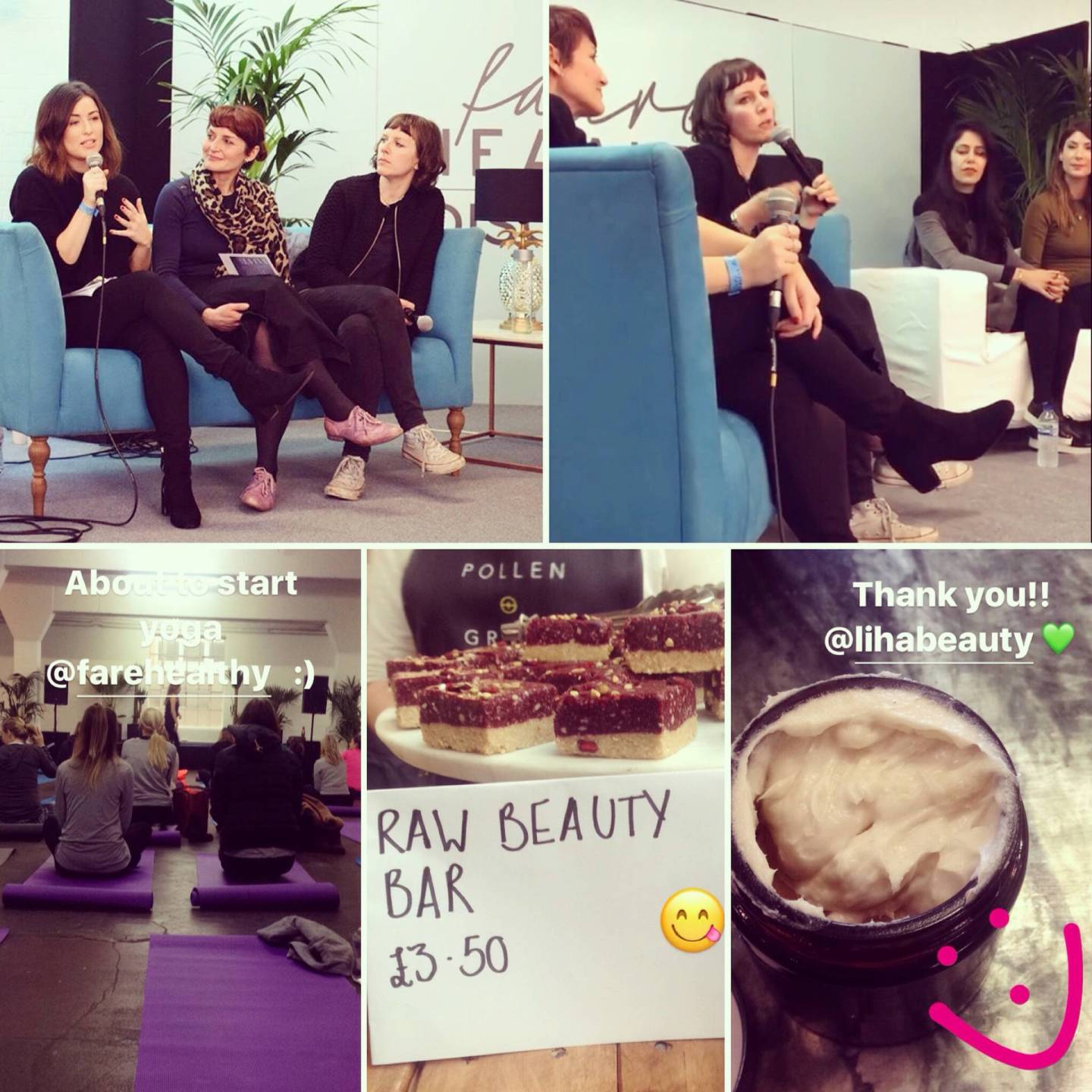 Fare Healthy, the Soil Association and clean beauty..