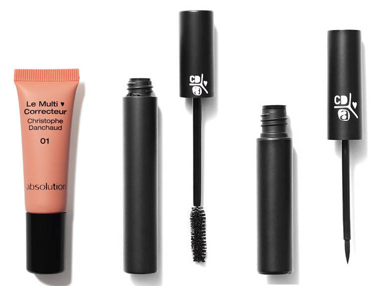 New Absolution concealers, mascara and eyeliner..