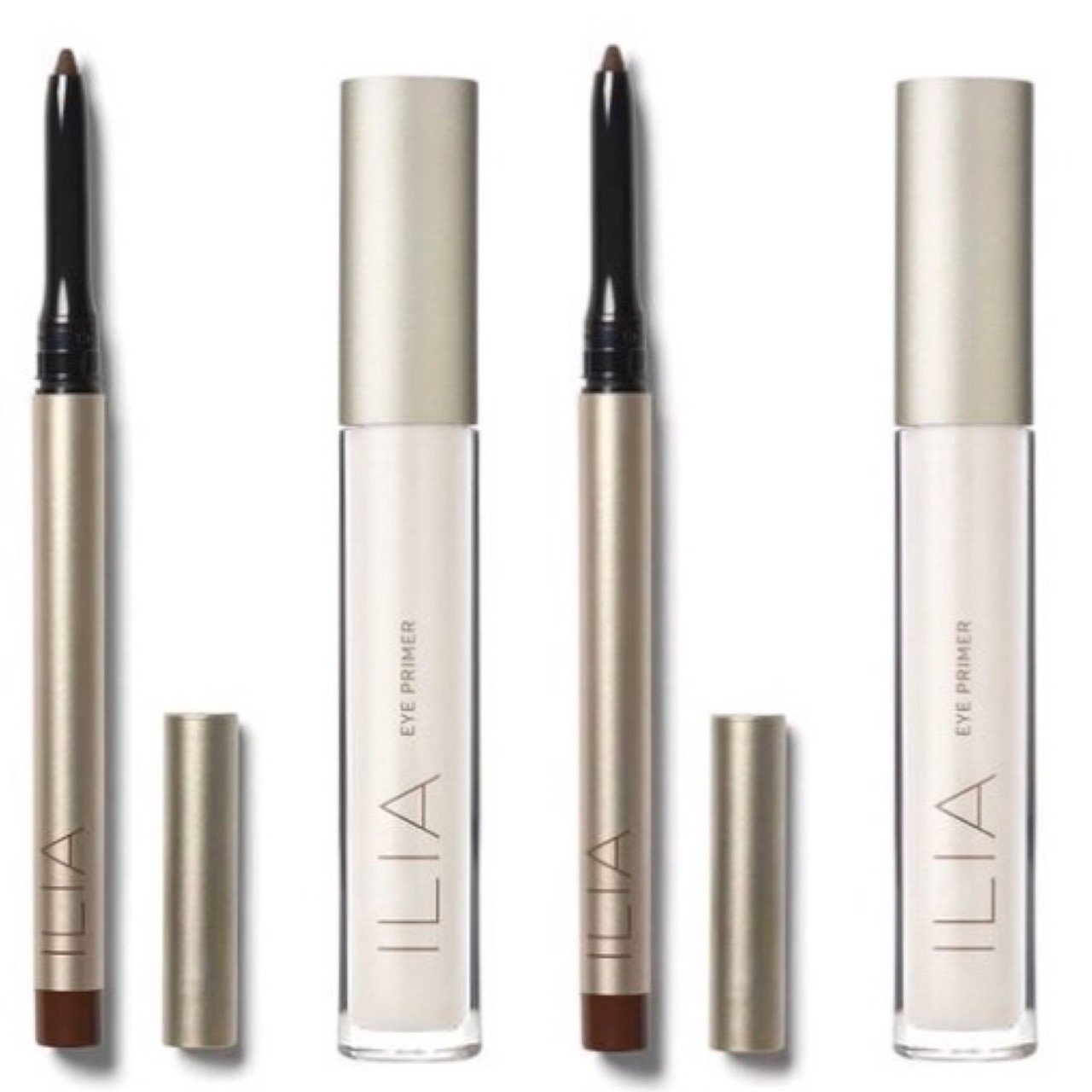 Ilia Clean Line Gel liner and Eye Primer (and some thoughts on silicone)