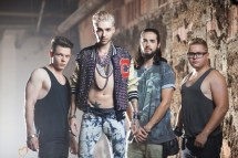 Tokio Hotel Photo Shoot