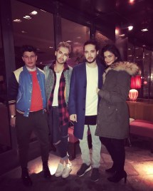 February 3 2017 Bill & Tom Kaulitz Grill Royal