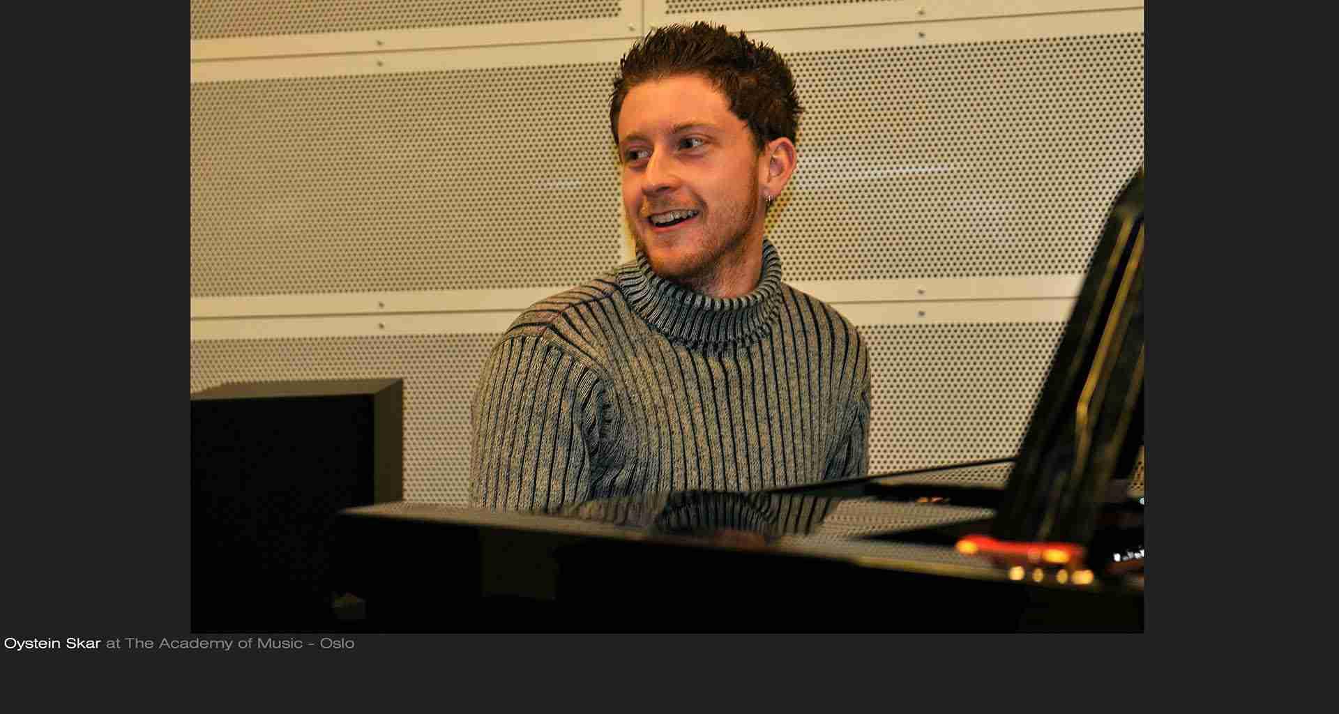 Øystein Skar – piano