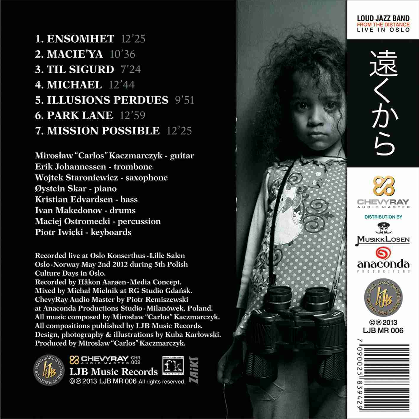 From the Distance - back cover