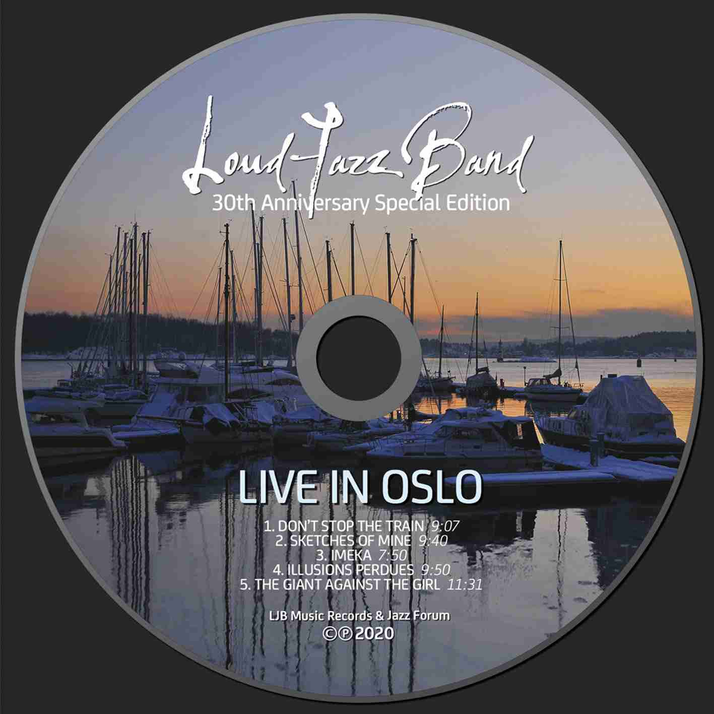 Live in Oslo - disc project