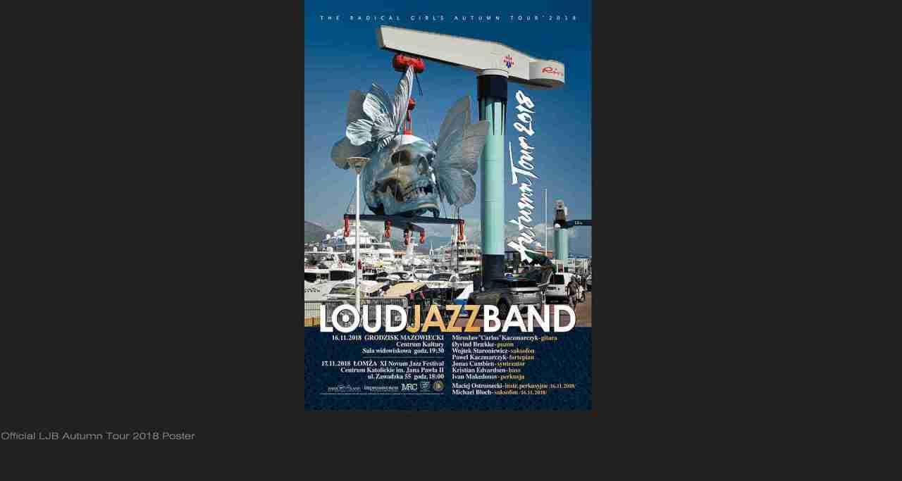 Loud Jazz Band - 2018 Tour
