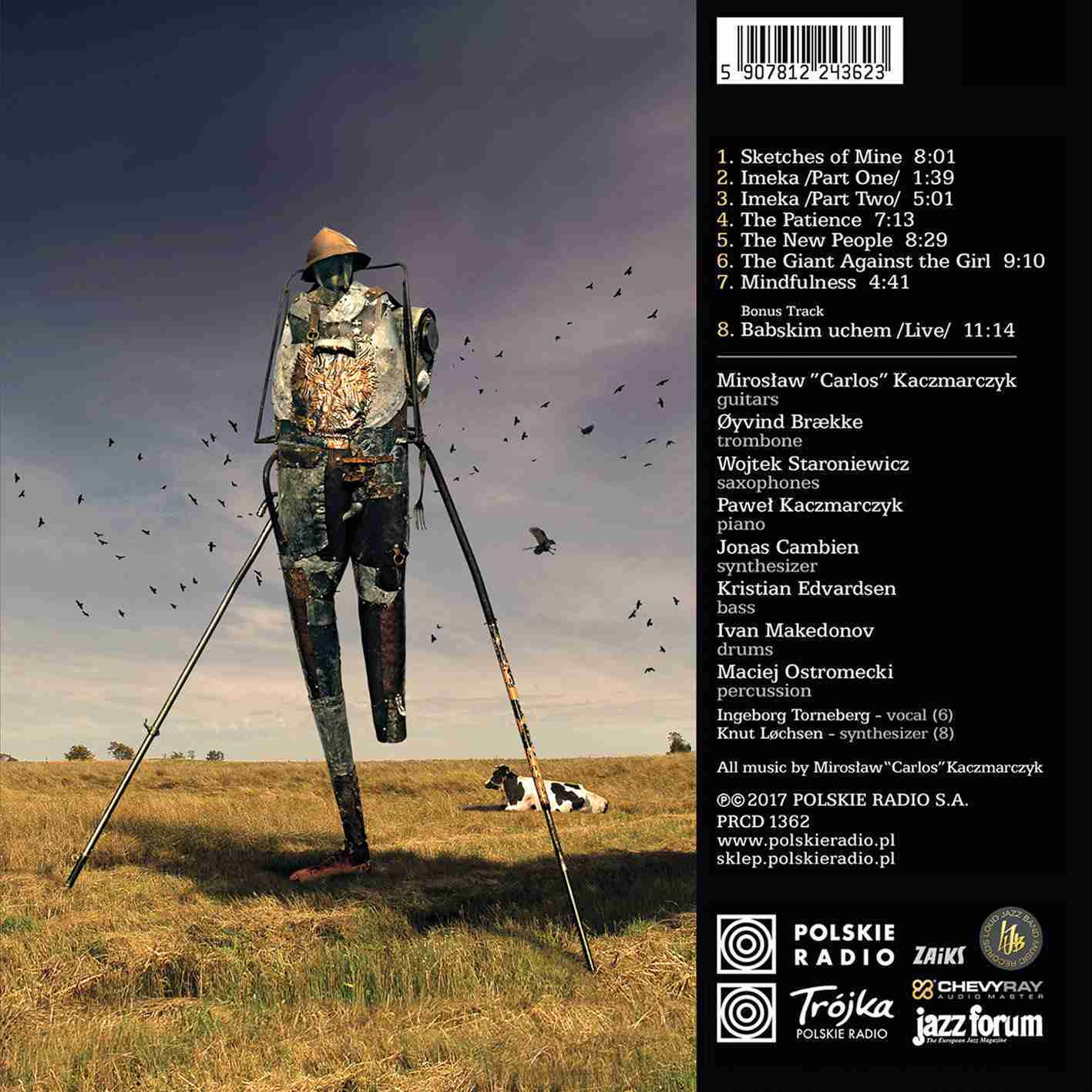 The Giant Against The Girl - Back Cover
