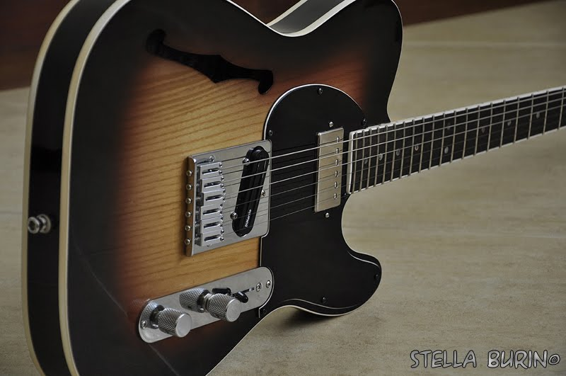Telecaster custom hollow body. Sweet Maria