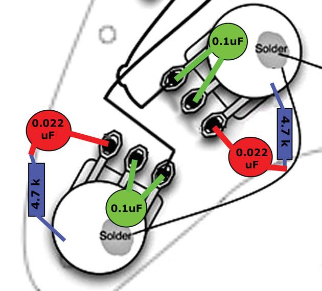 Circuitos Greasebucket e TBX
