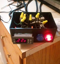 diy stc 1000 2 stage temperature controller wiring diagram with indicator lights loudmouthbrewer [ 2560 x 1920 Pixel ]
