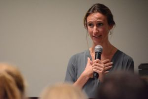 Kim Tapper, Associate Executive Director of A Place to Be. (Renss Greene/Loudoun Now)
