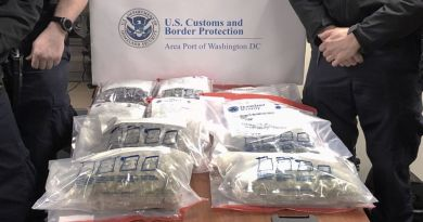 (Unsucessful) Pot Shipments Keep Dulles CBP Officers Busy