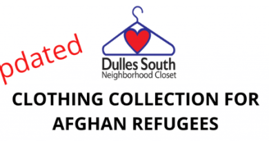 Clothing Donations Sought for Afghan Refugees
