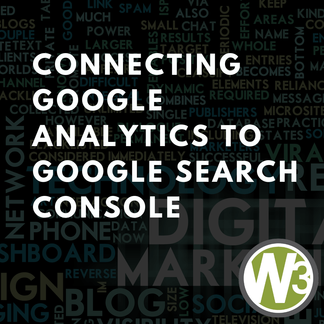 Connecting Google Analytics to Google Search Console