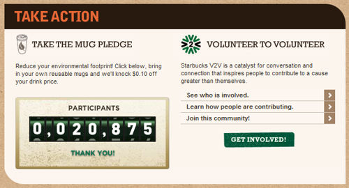 Starbucks is more socially responsible than I thought.